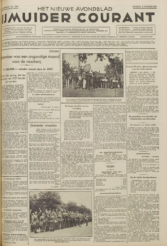 IJmuider Courant 1938-10-04