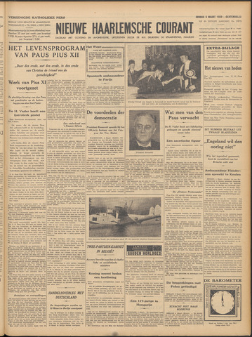 Nieuwe Haarlemsche Courant 1939-03-05