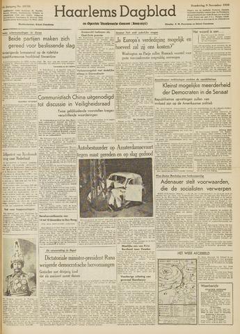 Haarlem's Dagblad 1950-11-09