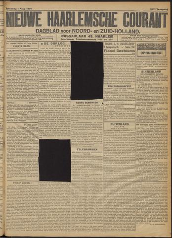 Nieuwe Haarlemsche Courant 1916-08-01