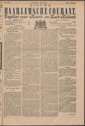 Nieuwe Haarlemsche Courant 1900-04-11