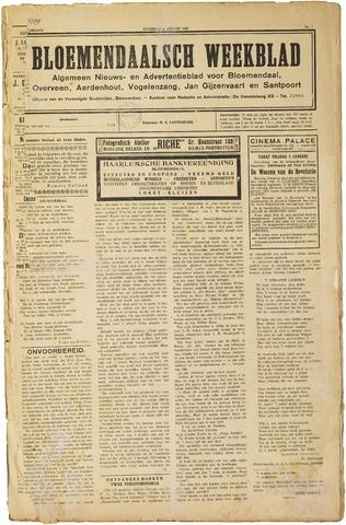 Het Bloemendaalsch Weekblad 1923