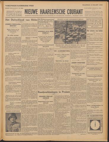 Nieuwe Haarlemsche Courant 1933-03-13