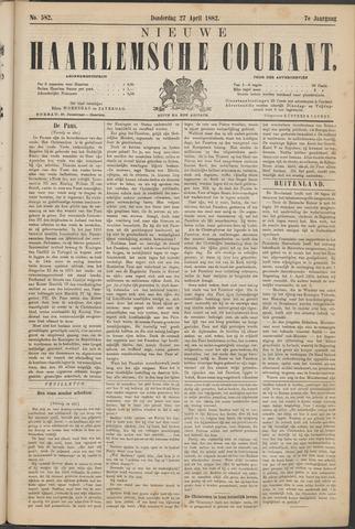 Nieuwe Haarlemsche Courant 1882-04-27