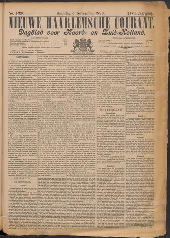 Nieuwe Haarlemsche Courant 1899-11-06
