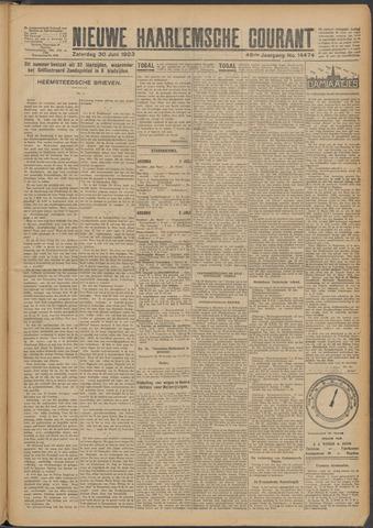 Nieuwe Haarlemsche Courant 1923-06-30