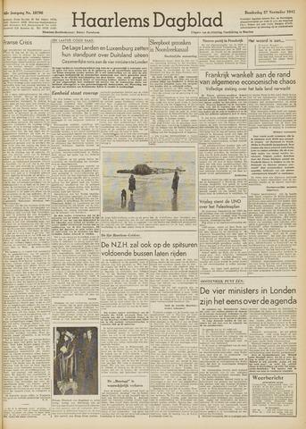 Haarlem's Dagblad 1947-11-27