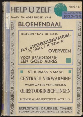 Adresboeken Bloemendaal 1932