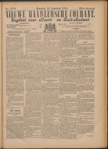 Nieuwe Haarlemsche Courant 1904-08-22