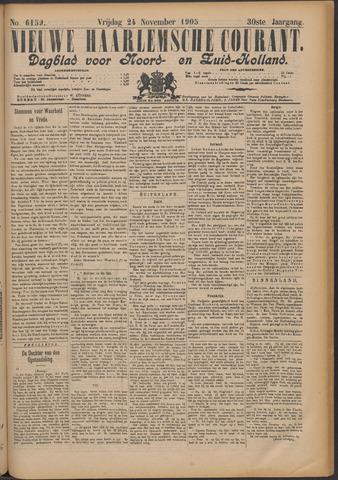 Nieuwe Haarlemsche Courant 1905-11-24