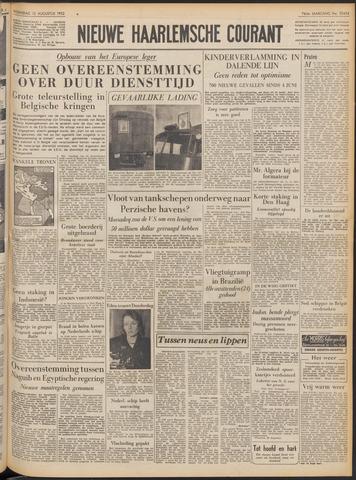 Nieuwe Haarlemsche Courant 1952-08-13