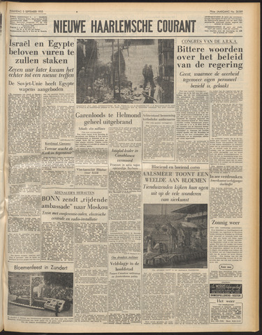 Nieuwe Haarlemsche Courant 1955-09-05