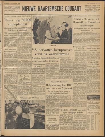 Nieuwe Haarlemsche Courant 1959-12-30