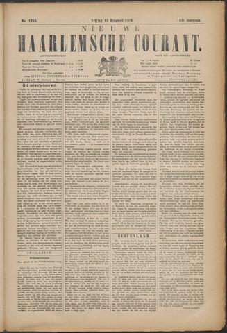 Nieuwe Haarlemsche Courant 1889-02-15