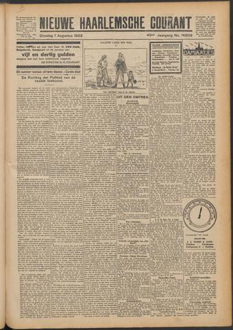 Nieuwe Haarlemsche Courant 1922-08-01