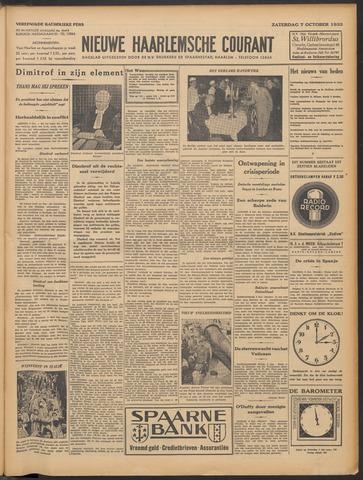 Nieuwe Haarlemsche Courant 1933-10-07