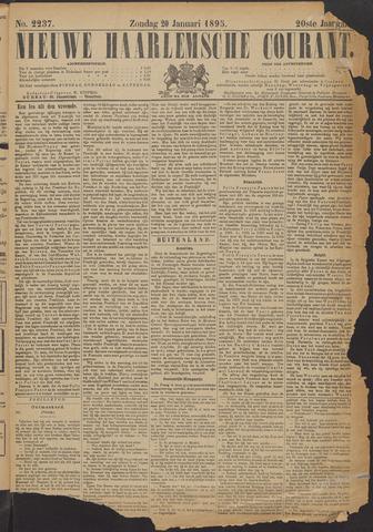 Nieuwe Haarlemsche Courant 1895-01-20