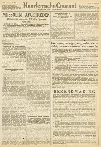 Haarlemsche Courant 1943-07-26