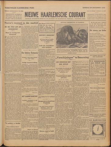 Nieuwe Haarlemsche Courant 1932-12-20