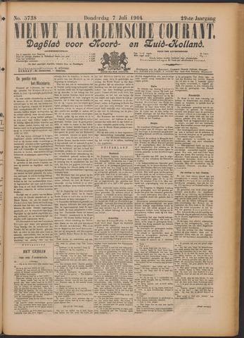Nieuwe Haarlemsche Courant 1904-07-07