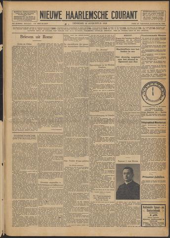 Nieuwe Haarlemsche Courant 1928-08-14