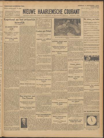 Nieuwe Haarlemsche Courant 1934-12-04
