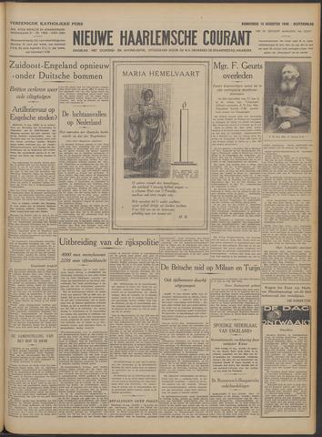 Nieuwe Haarlemsche Courant 1940-08-15