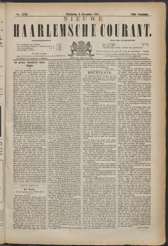 Nieuwe Haarlemsche Courant 1891-12-09