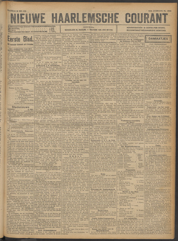 Nieuwe Haarlemsche Courant 1921-05-30
