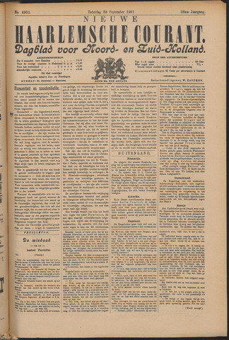 Nieuwe Haarlemsche Courant 1901-09-28