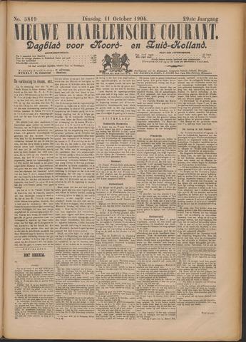 Nieuwe Haarlemsche Courant 1904-10-11