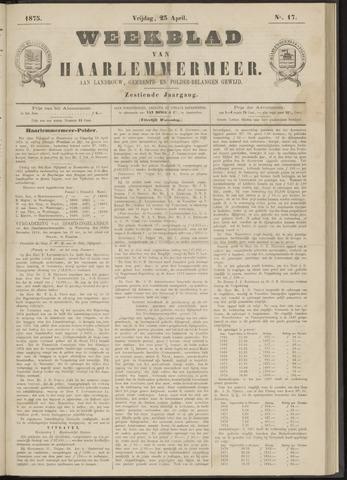 Weekblad van Haarlemmermeer 1875-04-23