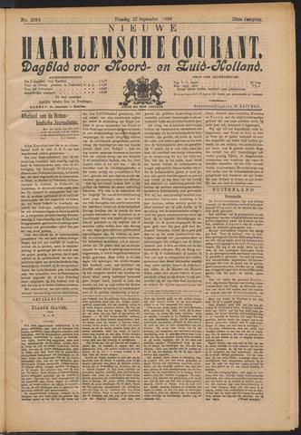 Nieuwe Haarlemsche Courant 1898-09-27