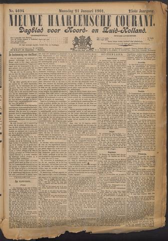 Nieuwe Haarlemsche Courant 1901-01-21