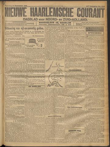 Nieuwe Haarlemsche Courant 1916-09-16