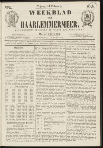 Weekblad van Haarlemmermeer 1862-02-14