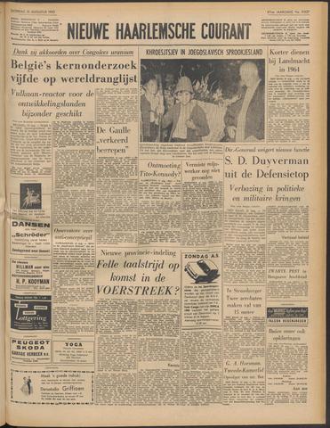 Nieuwe Haarlemsche Courant 1963-08-31