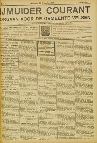 IJmuider Courant 1916-09-27