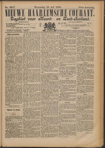 Nieuwe Haarlemsche Courant 1905-07-26