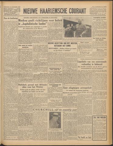 Nieuwe Haarlemsche Courant 1949-11-30