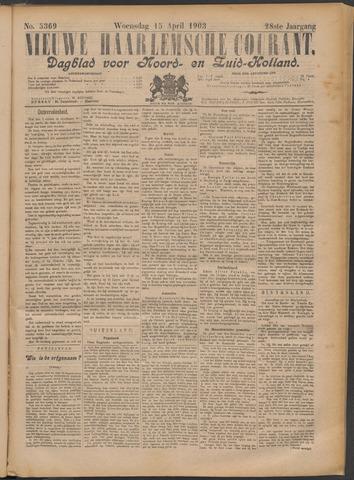 Nieuwe Haarlemsche Courant 1903-04-15
