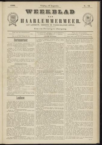 Weekblad van Haarlemmermeer 1880-08-06