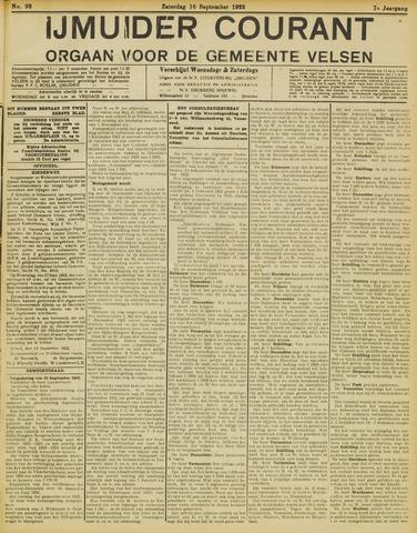 IJmuider Courant 1922-09-16
