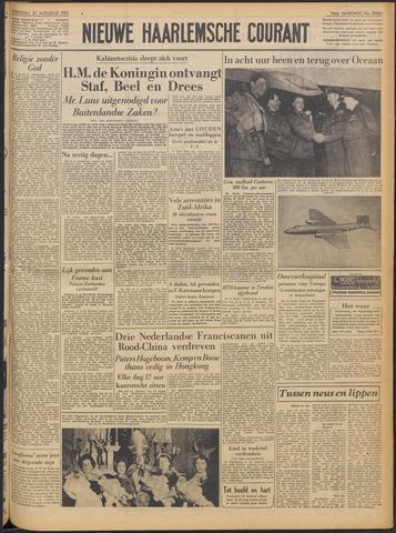 Nieuwe Haarlemsche Courant 1952-08-27