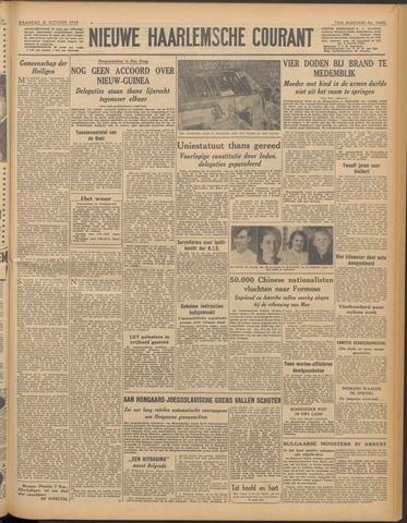 Nieuwe Haarlemsche Courant 1949-10-31