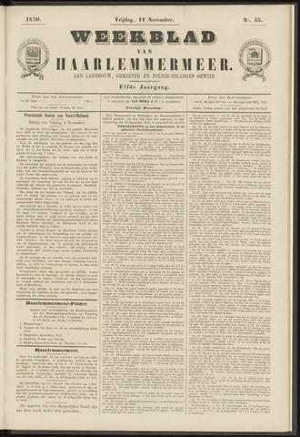 Weekblad van Haarlemmermeer 1870-11-11