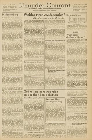 IJmuider Courant 1945-12-04