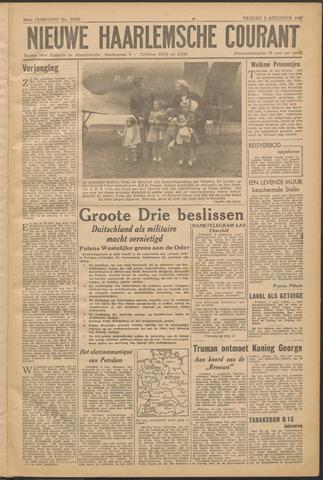 Nieuwe Haarlemsche Courant 1945-08-03