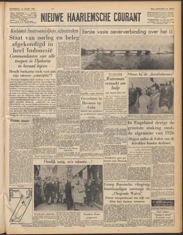 Nieuwe Haarlemsche Courant 1957-03-14