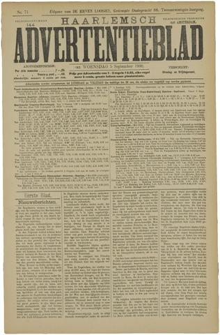Haarlemsch Advertentieblad 1900-09-05